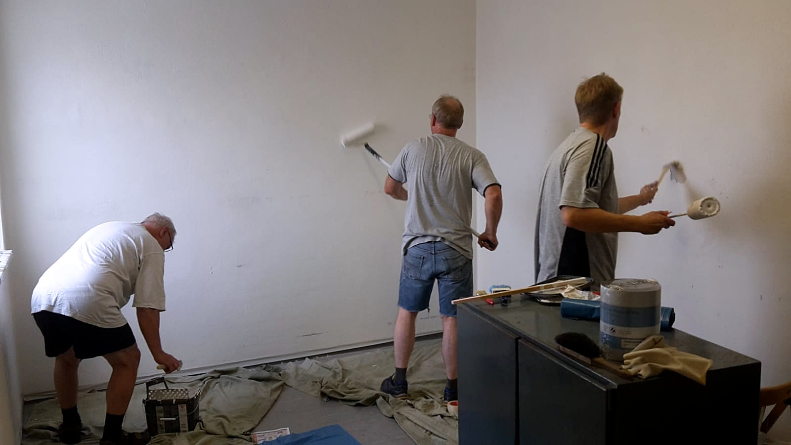 """""""Drei Männer"""""""